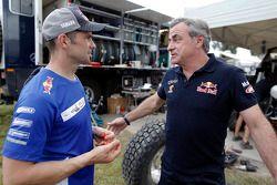 Cyril Despres ve Carlos Sainz