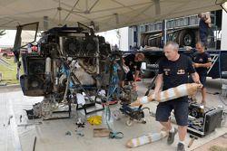 Red Bull SMG Buggy takım alanı