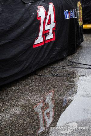 #14赛车的倒影,Mark Martin, Stewart-Haas雪佛兰车队