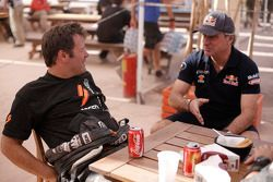 Robby Gordon e Carlos Sainz