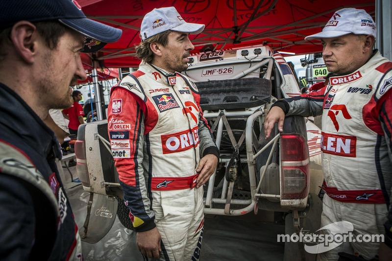 Adam Malysz, Marek Dabrowski and Jacek Czachor