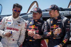 Nasser Al-Attiyah, Carlos Sainz, Timo Gottschalk