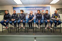 SRT Motorsports persconferentie: Ryan Hunter-Reay, Marc Goossens, Dominik Farnbacher, Jonathan Bomar