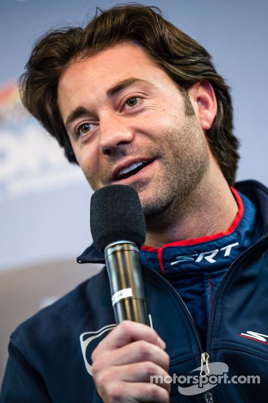 SRT Motorsports conferência de imprensa: Jonathan Bomarito