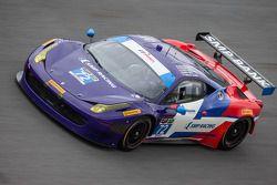 #72 SMP / ESM Racing Ferrari 458 Italia: Maurizio Mediani, Sergey Zlobin, Boris Rotenberg, Mika Salo