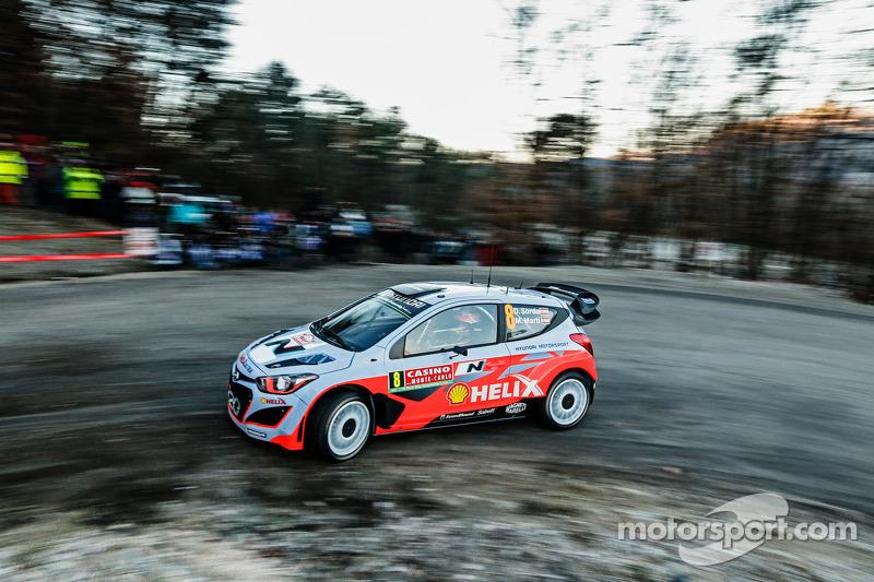 2014: Daniel Sordo y Marc Marti, Hyundai i20 WRC, Hyundai Motorsport