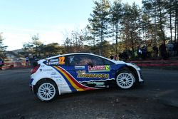 Francois Delecour and Dominique Savignoni, Ford Fiesta WRC