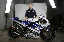 Хорхе Лорнецо. Презентация Yamaha MotoGP YZR-M1, особое событие.