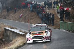 Robert Barrable y Stuart Loudon, Ford Fiesta R5