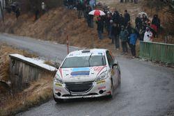 Marco Blanc and Roberto Mometti, Peugeot 208