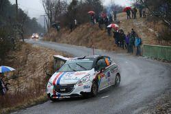 Gabriele Cogni and Silvia Mazzetti, Peugeot 209