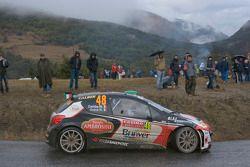Matteo Gamba y Nicola Arena, Peugeot 207 S2000