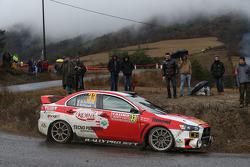 Massimiliano Redina and Mario Pizzuti, Mitsubishi Evo X