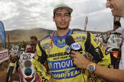 Quad category vencedor Ignacio Casale