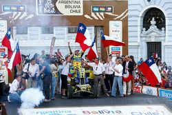 Quad kategori kazananı #251 Yamaha: Ignacio Casale