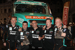 #501 Iveco: Gerard de Rooy, Tom Colsoul, Darek Rodewald