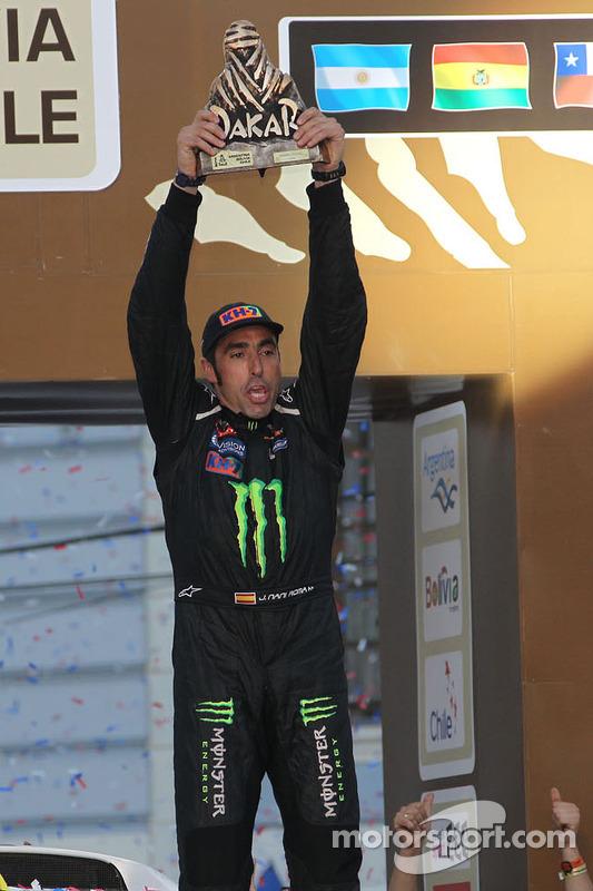 Nani Roma, vencedor da categoria carro
