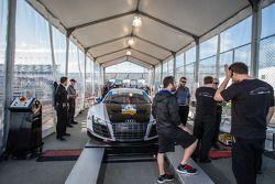 #48 Paul Miller Racing Audi R8 LMS : Vérifications techniques