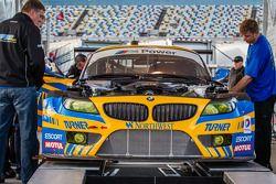 #94 Turner Motorsport BMW Z4 BMW : Aux vérifications techniques