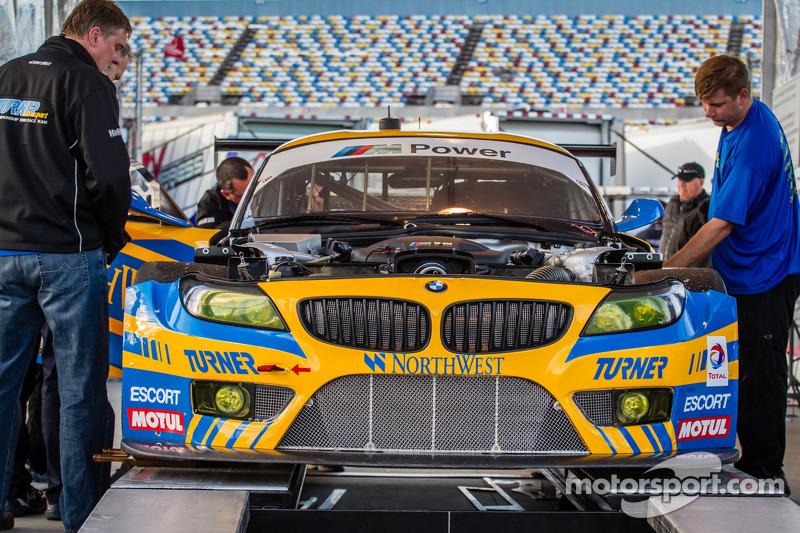 #94 Turner Motorsport BMW Z4 BMW at technical inspection