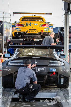 #009 TRG-AMR Aston Martin V12 Vantage : Vérifications techniques
