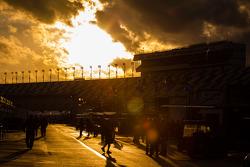 Coucher de soleil spectaculaire à Daytona