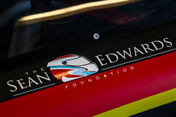 Sean Edwards Foundation logo no #30 NGT Motorsport Porsche 911 GT America