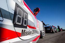 #912 Porsche North America Porsche 911 RSR : Un message :