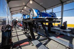 #52 PR1/Mathiasen Motorsports ORECA FLM09 Chevrolet at technical inspection