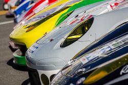 Les voitures pour la photo