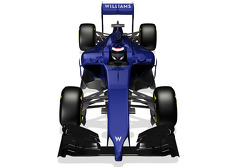 Computer rendering of the new Williams F1 FW36