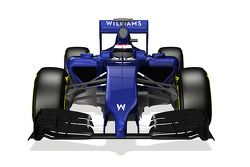 Williams F1 FW36 desenhada no computador