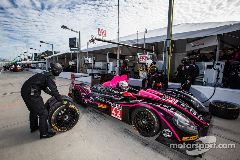 #42 OAK Racing 摩根 日产: 奥利弗·普拉, 罗曼·鲁斯诺夫, 古斯塔沃·亚卡曼, 奥利弗·韦布