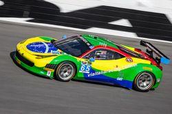 #65 Scuderia Corsa Ferrari 458 Italia: Francisco Longo, Xandinho Negrao, Daniel Serra, Marcos Gomes