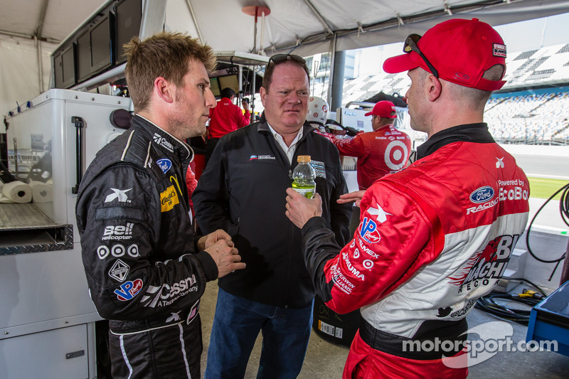 Jamie McMurray, Chip Ganassi e Marino Franchitti