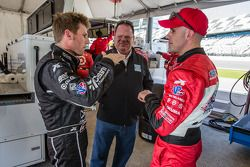 Jamie McMurray, Chip Ganassi et Marino Franchitti