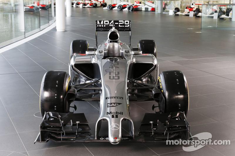 2014: McLaren MP4-29 Mercedes (два подиума, 5-е место в КК)