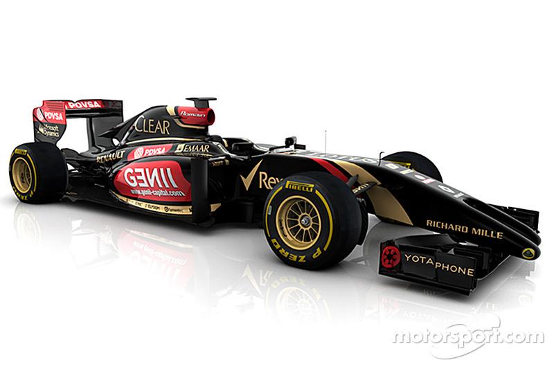Yeni Lotus F1 E22