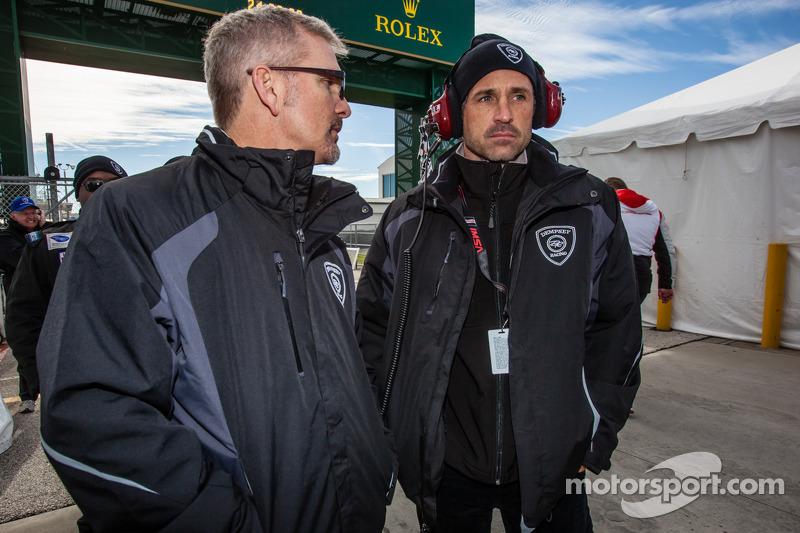 Joe Foster and Patrick Dempsey