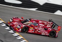 #70 SpeedSource Mazda Mazda: Sylvain Tremblay, Tom Long, James Hinchcliffe