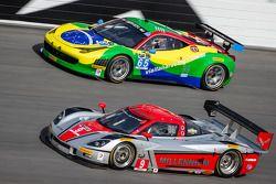 #65 Scuderia Corsa 法拉利 458 Italia: 弗朗西斯科·隆戈, 赞蒂尼奥·内格罗, 丹尼尔·塞拉, 马尔克斯·戈麦斯, #9 Action Express Racing 雪佛