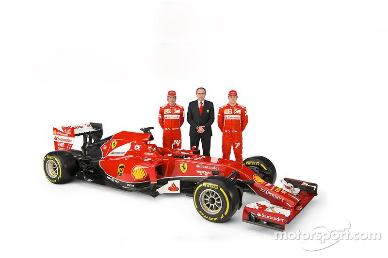 Ferarri, 2014: Fernando Alonso e Kimi Raikkonen