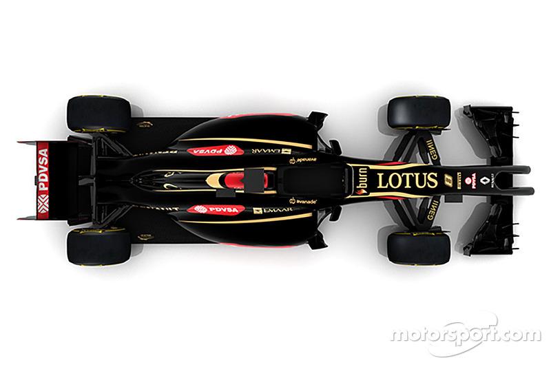 Representación de la computadora del nuevo Lotus F1 E22