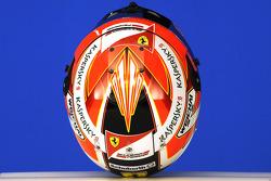 Helmet of Kimi Raikkonen, Scuderia Ferrari