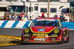 #30 NGT Motorsport Porsche 911 GT America: Henrique Cisneros, Christina Nielsen, Nicki Thiim, Kuba G