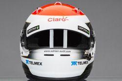 Casque d'Adrian Sutil, Sauber F1 Team