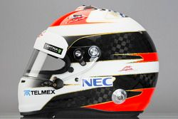 Casque d'Adrian Sutil, Sauber F1 Team