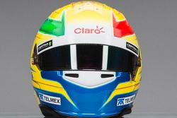Casque de Esteban Gutierrez, Sauber F1 Team