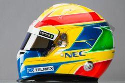 kask: Esteban Gutierrez, Sauber F1 Takımı