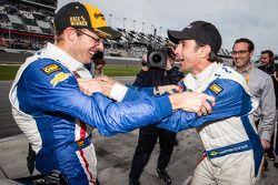 Sébastien Bourdais et Christian Fittipaldi heureux